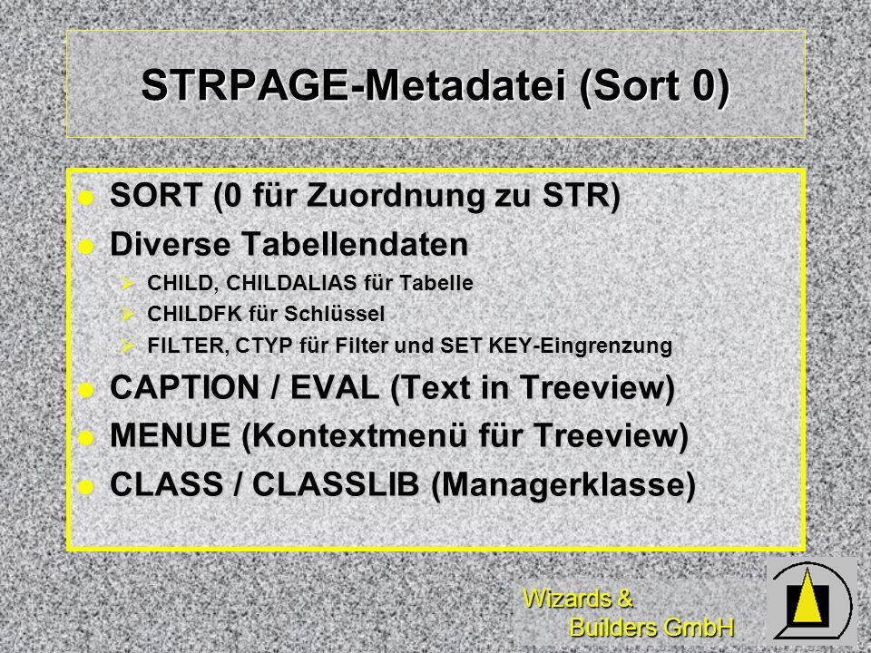 STRPAGE-Metadatei (Sort 0)
