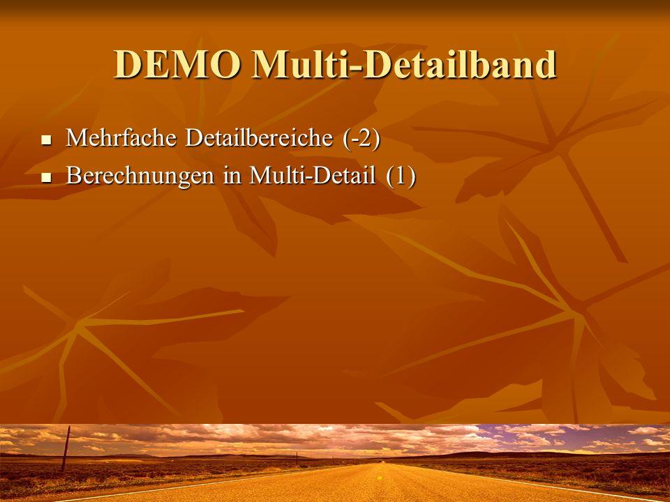 DEMO Multi-Detailband