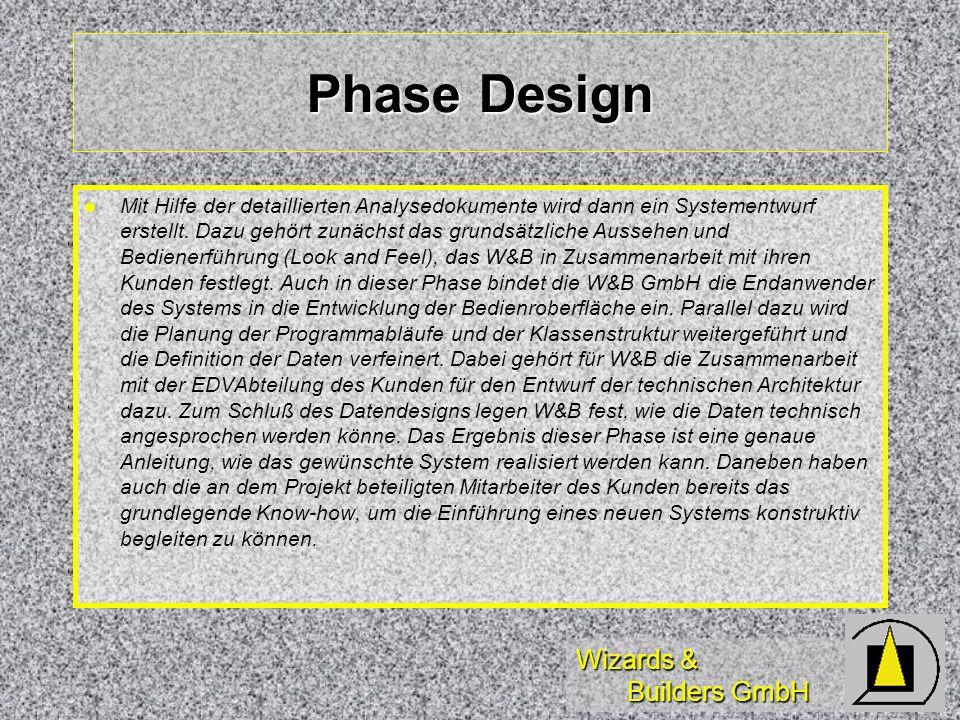 Phase Design