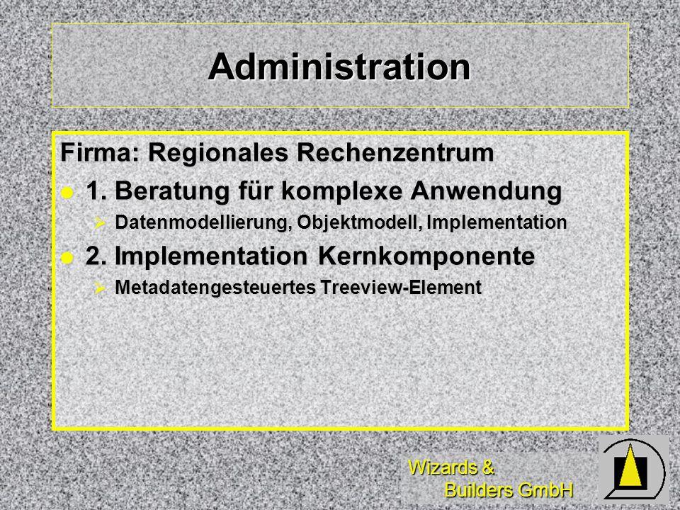 Administration Firma: Regionales Rechenzentrum