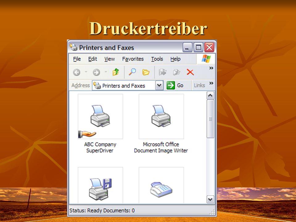 Druckertreiber