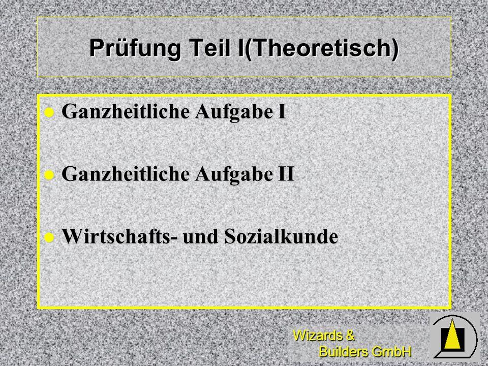 Prüfung Teil I(Theoretisch)