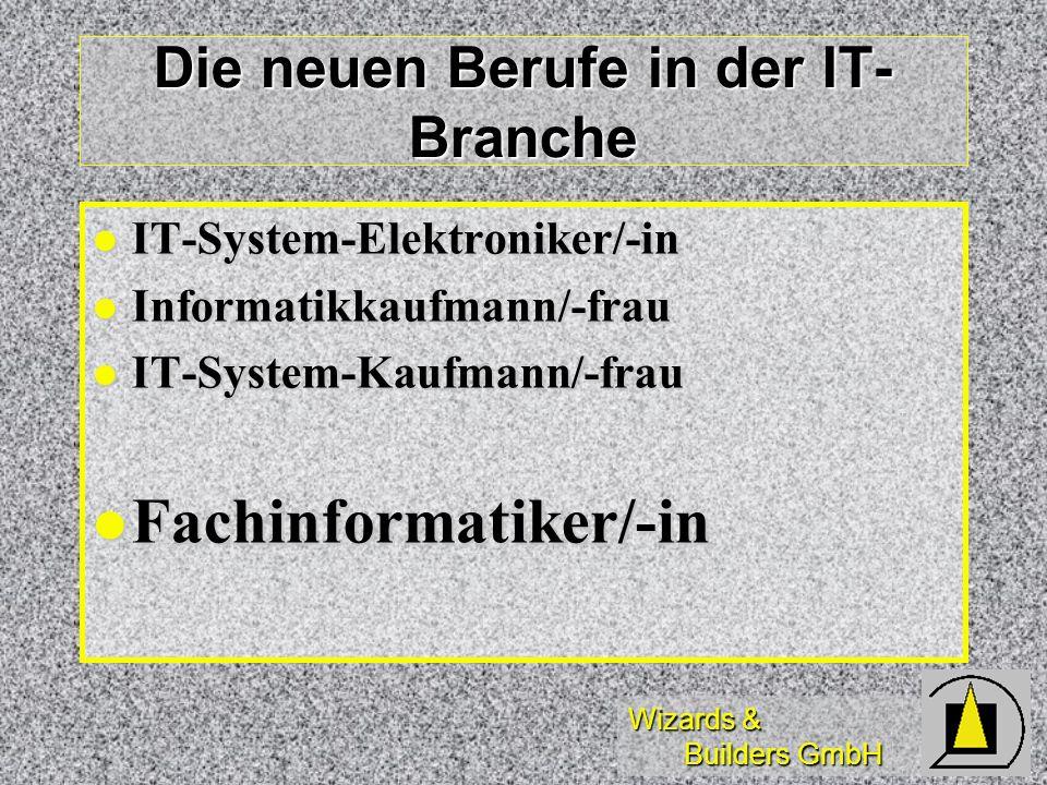 Die neuen Berufe in der IT-Branche