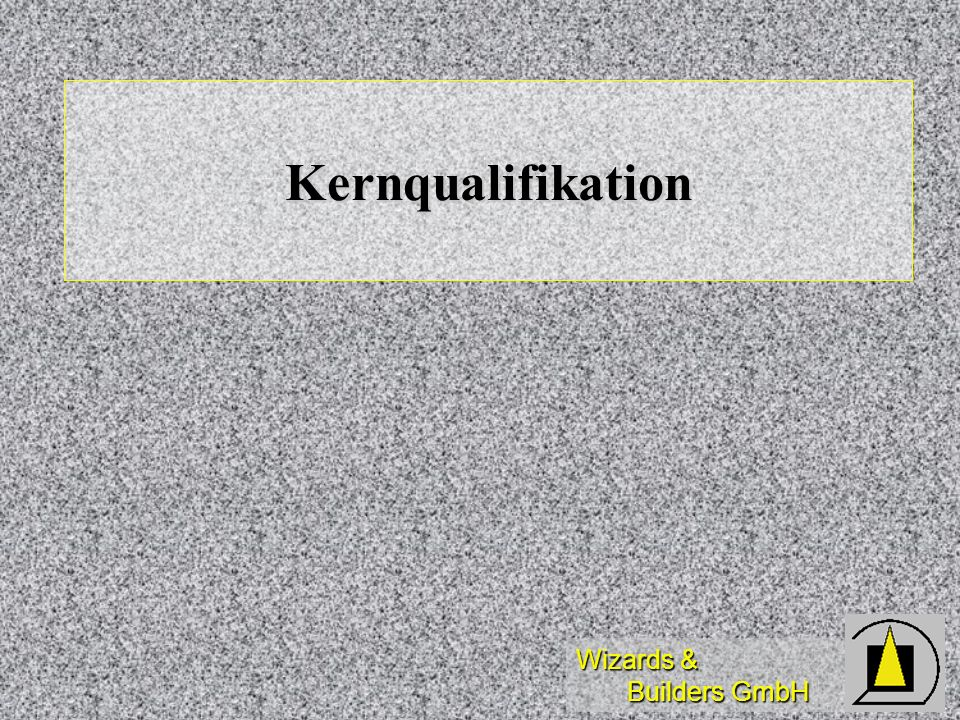 Kernqualifikation