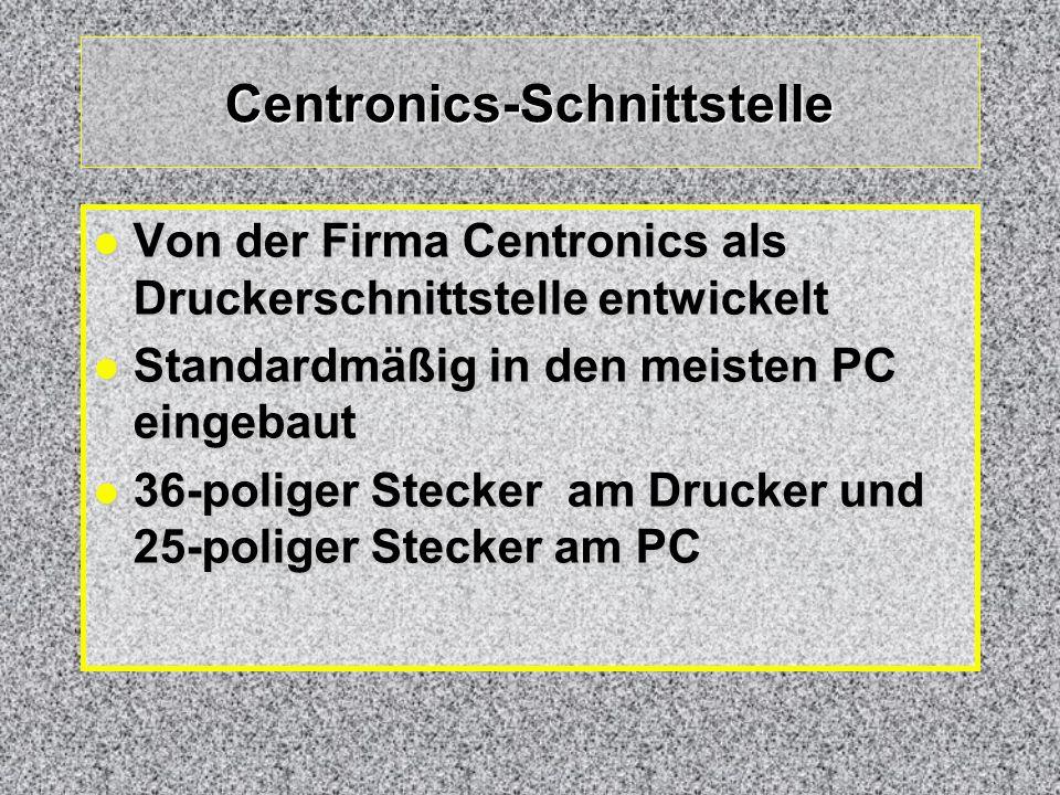 Centronics-Schnittstelle