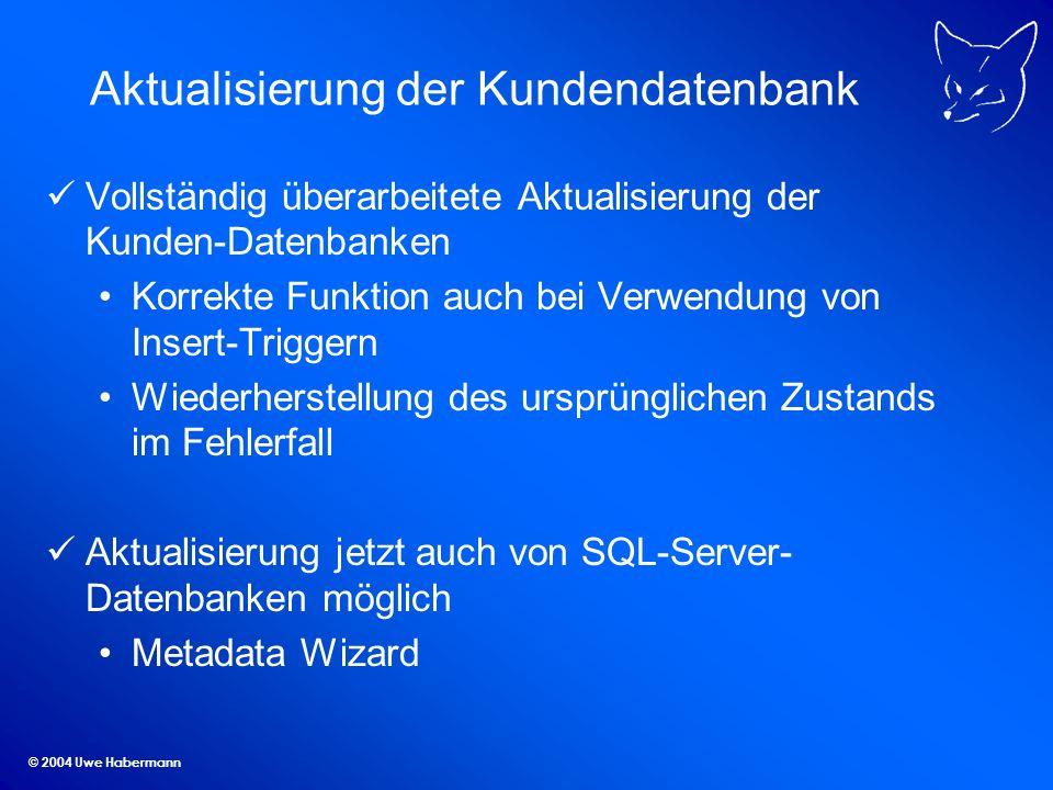 Aktualisierung der Kundendatenbank