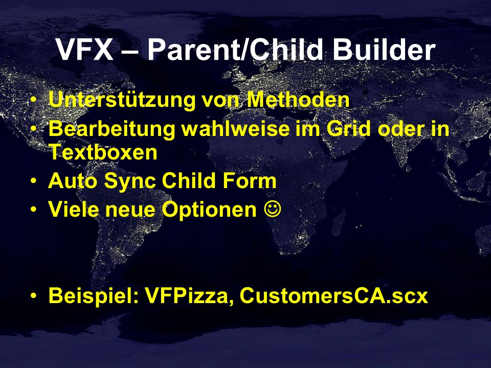 VFX – Parent/Child Builder