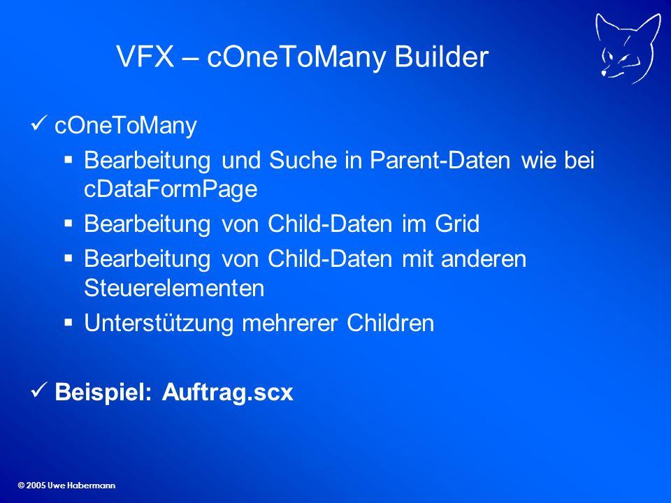 VFX – cOneToMany Builder