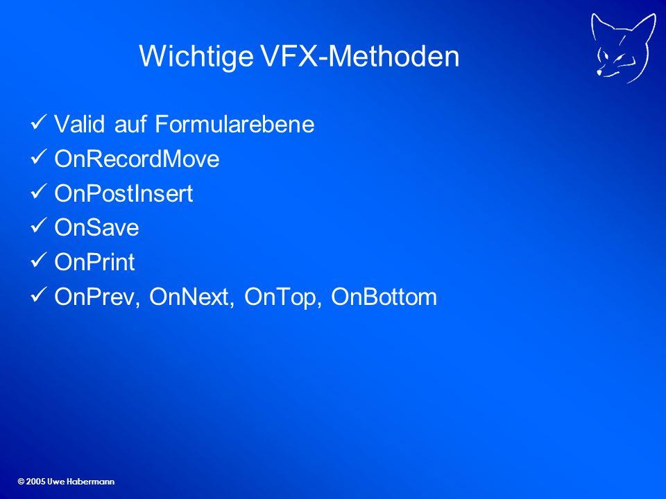 Wichtige VFX-Methoden
