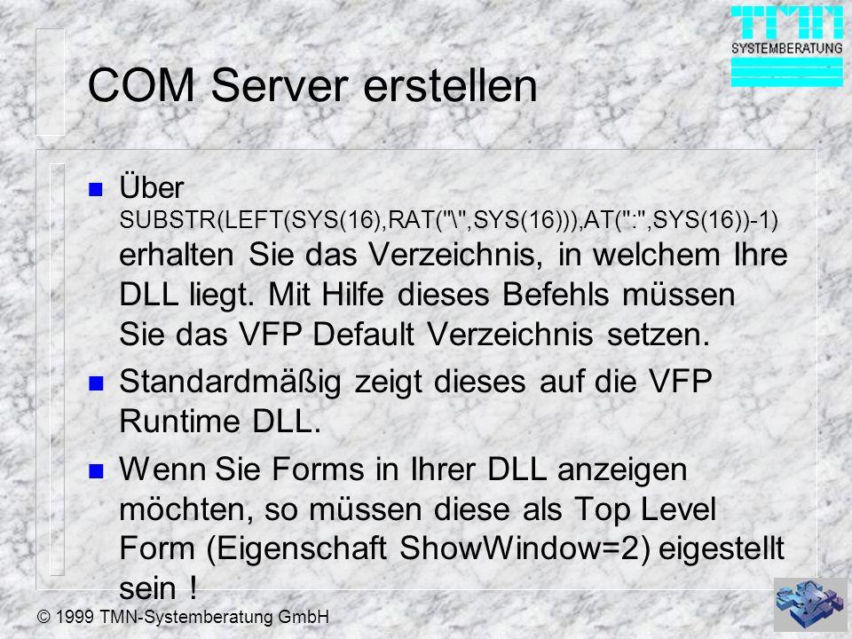 COM Server erstellen