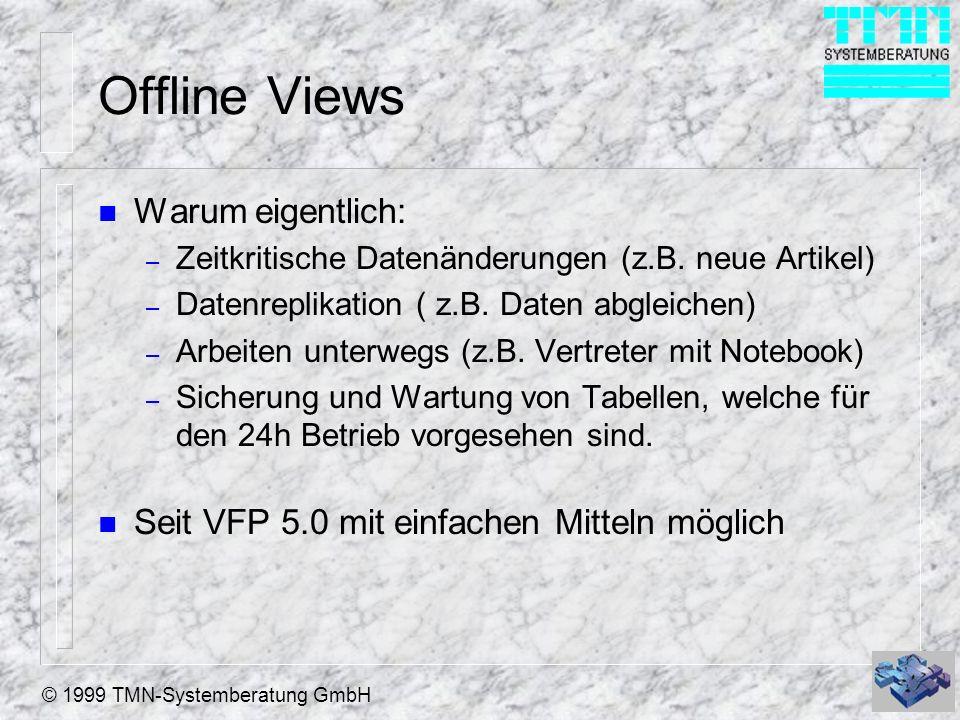 Offline Views Warum eigentlich:
