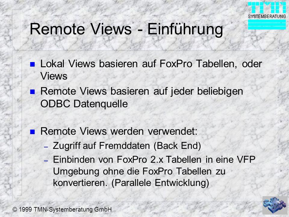 Remote Views - Einführung