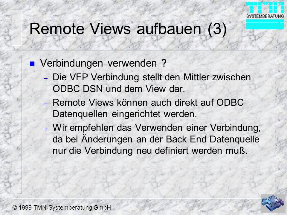 Remote Views aufbauen (3)