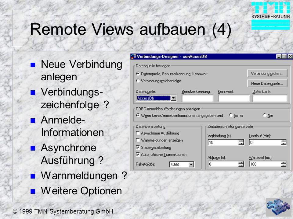 Remote Views aufbauen (4)