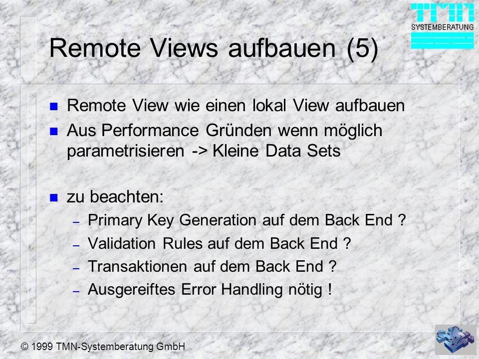 Remote Views aufbauen (5)