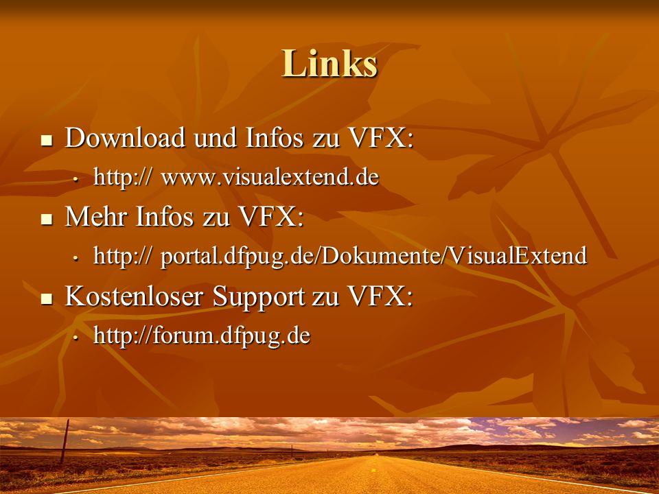 Links Download und Infos zu VFX: Mehr Infos zu VFX: