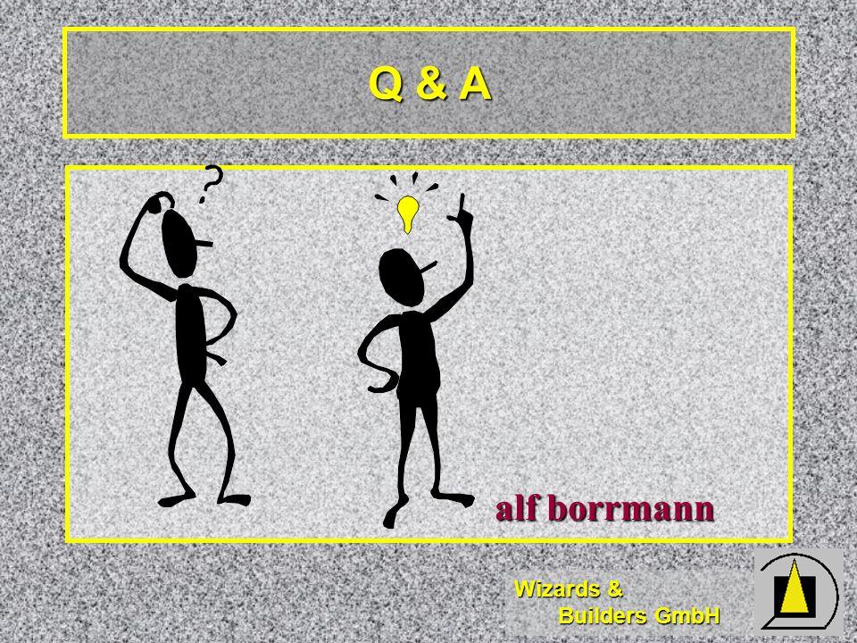 Q & A alf borrmann