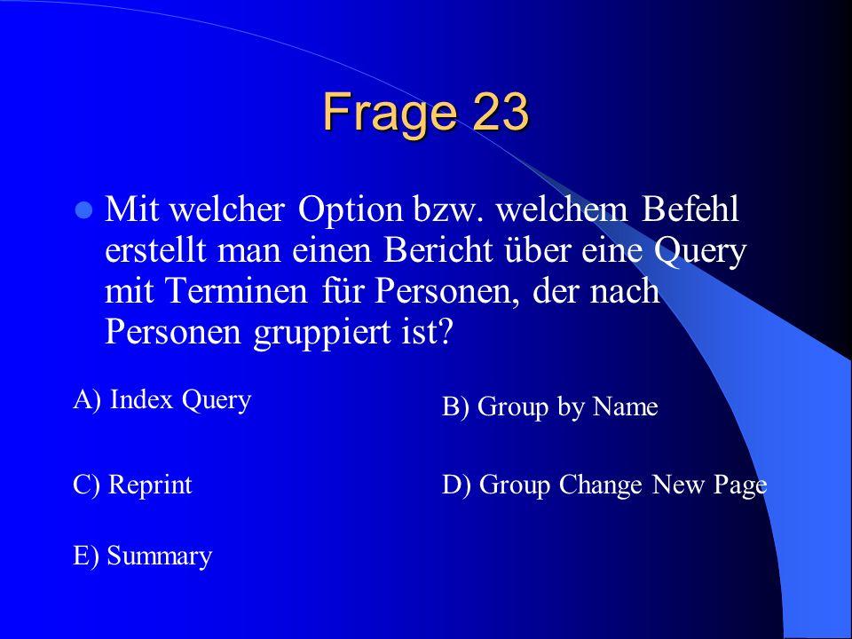 Frage 23