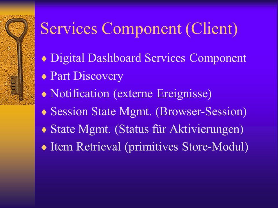 Services Component (Client)