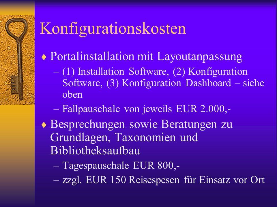 Konfigurationskosten