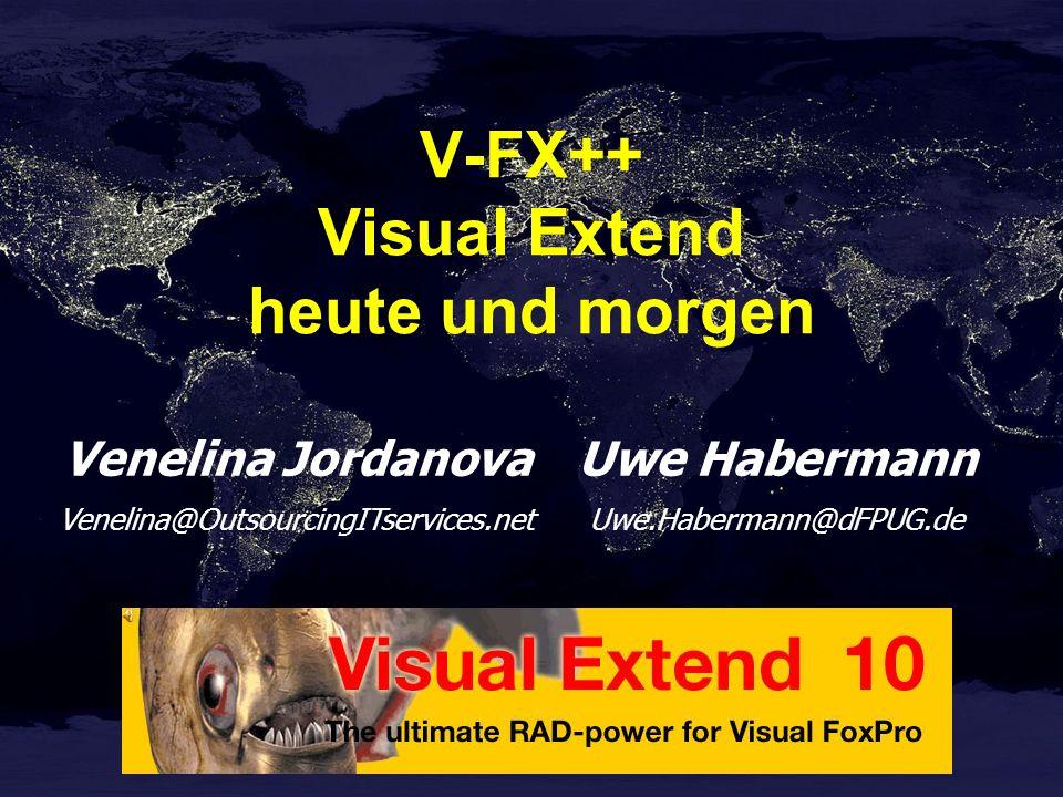 V-FX++ Visual Extend heute und morgen