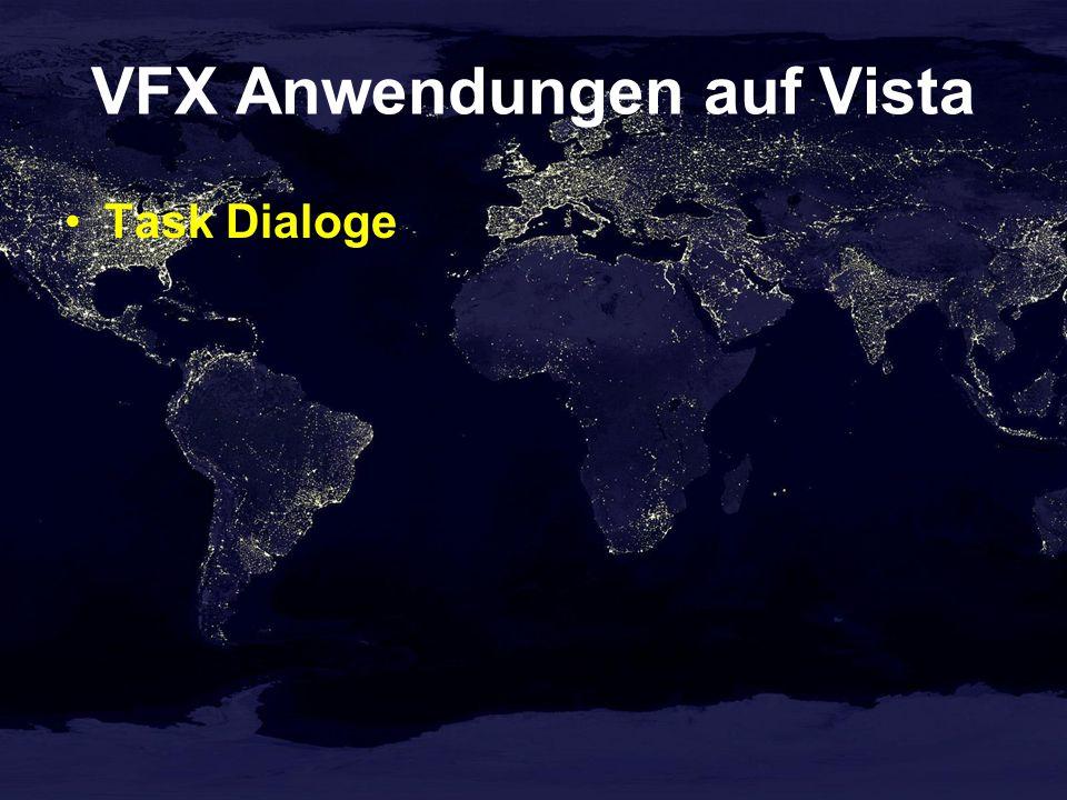 VFX Anwendungen auf Vista