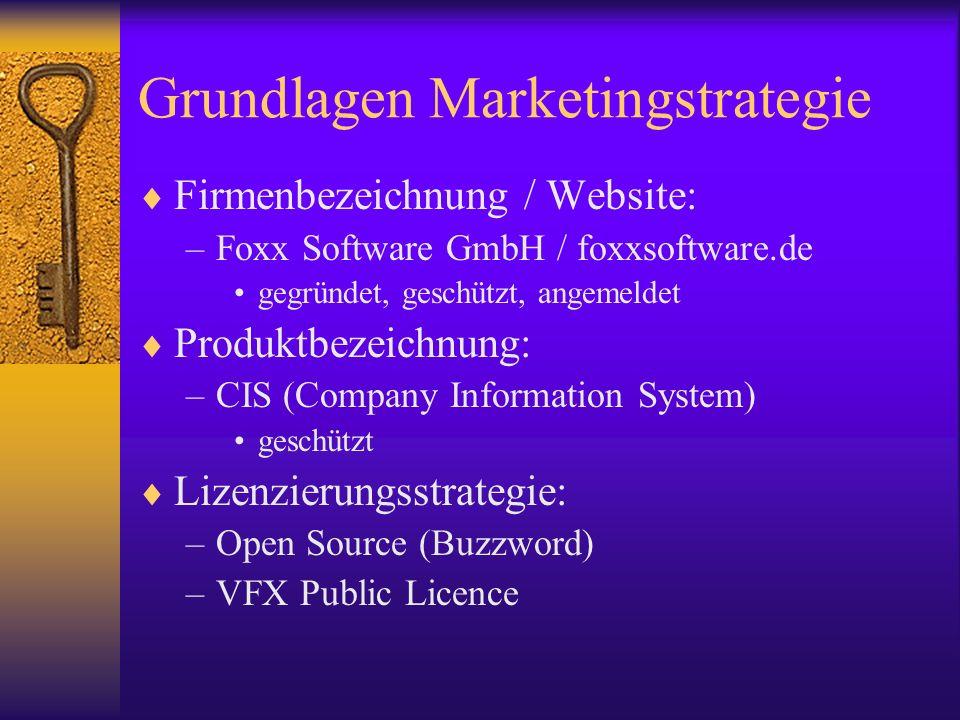 Grundlagen Marketingstrategie