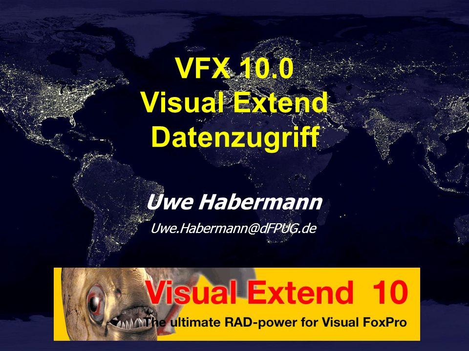 VFX 10.0 Visual Extend Datenzugriff