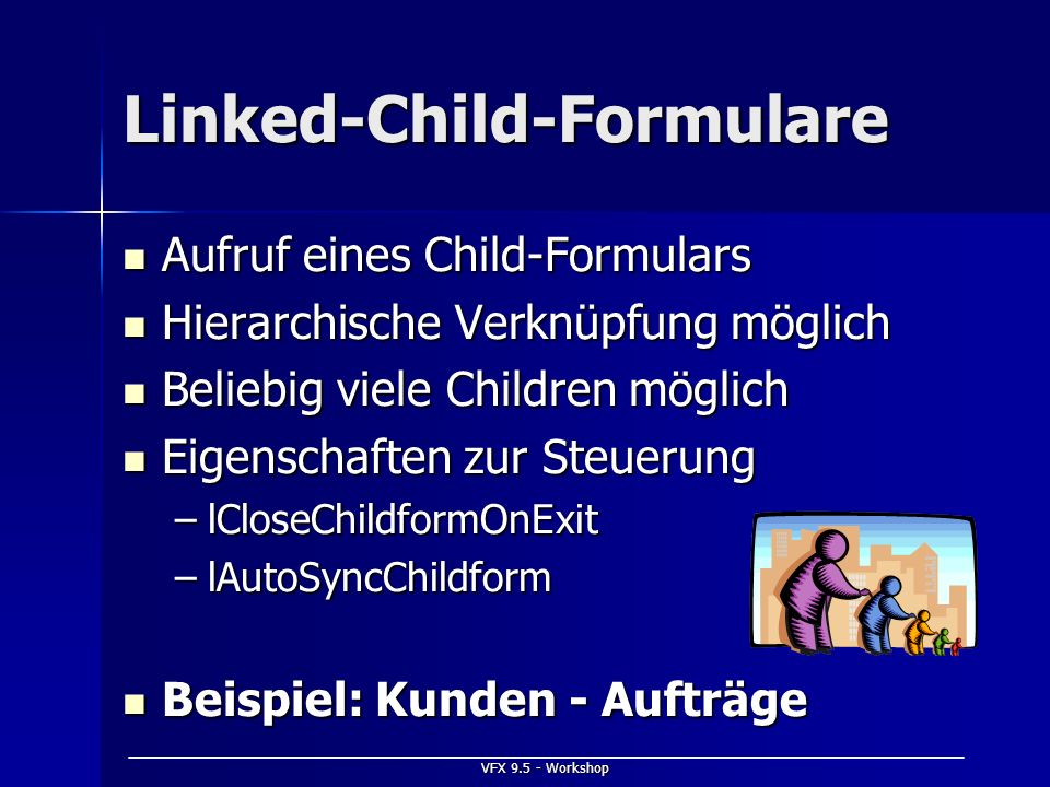 Linked-Child-Formulare