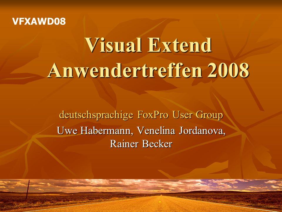 Visual Extend Anwendertreffen 2008