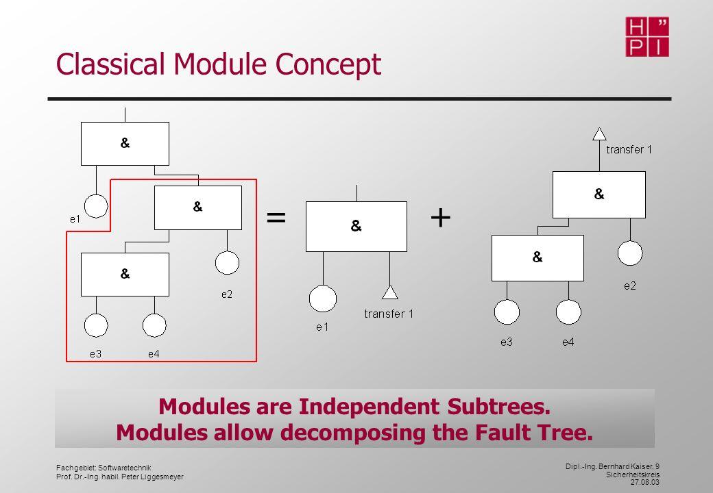 Classical Module Concept