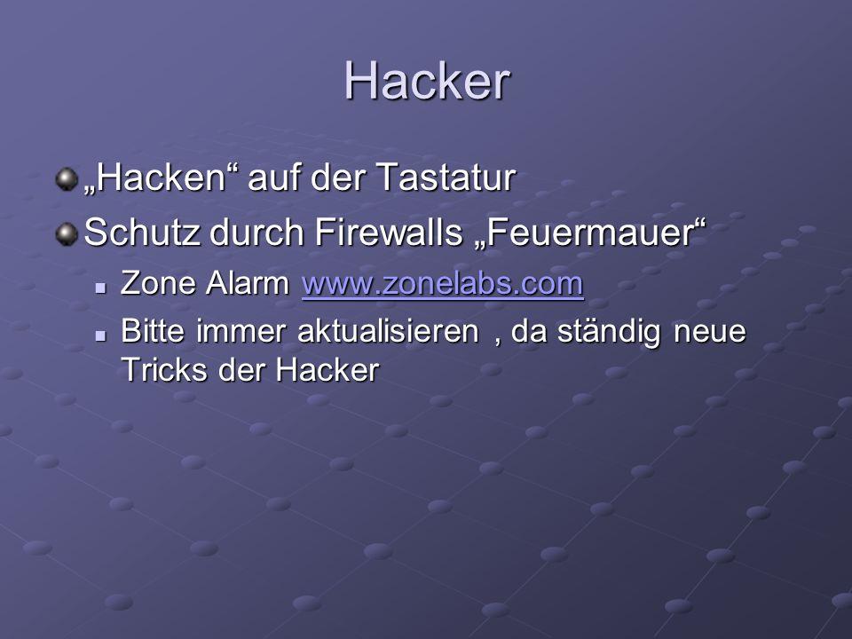 """Hacker """"Hacken auf der Tastatur Schutz durch Firewalls """"Feuermauer"""