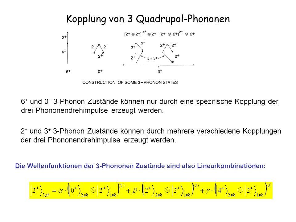 Kopplung von 3 Quadrupol-Phononen