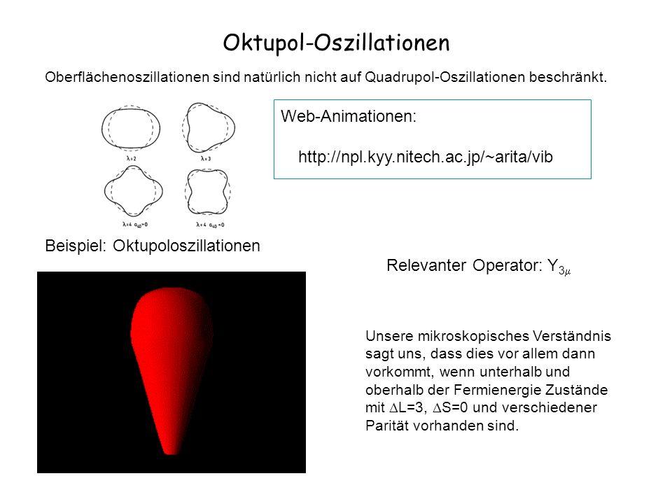 Oktupol-Oszillationen