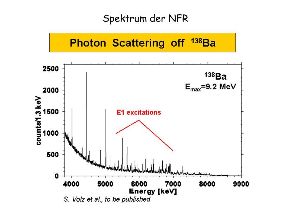 Spektrum der NFR