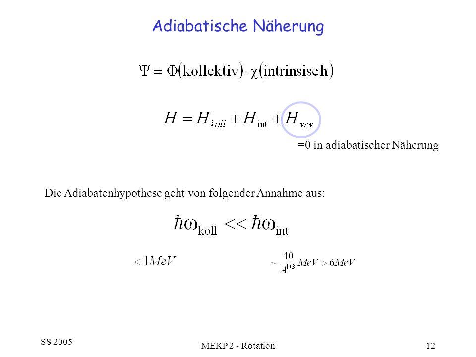 Adiabatische Näherung