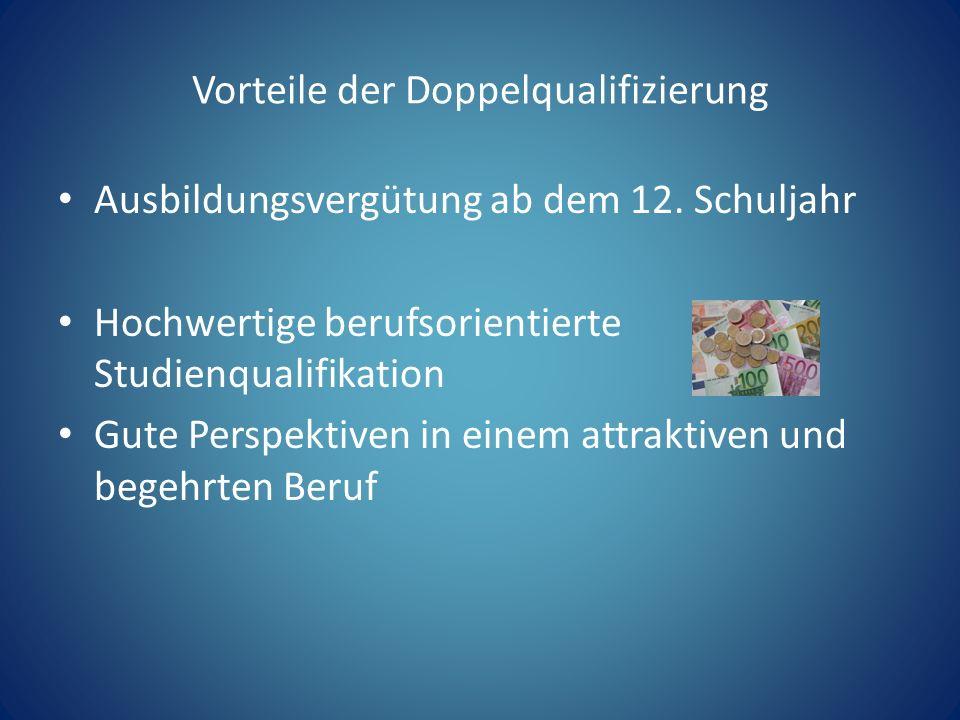 Vorteile der Doppelqualifizierung