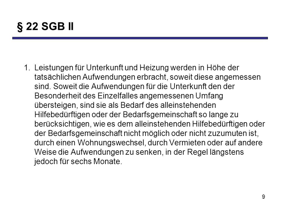 § 22 SGB II