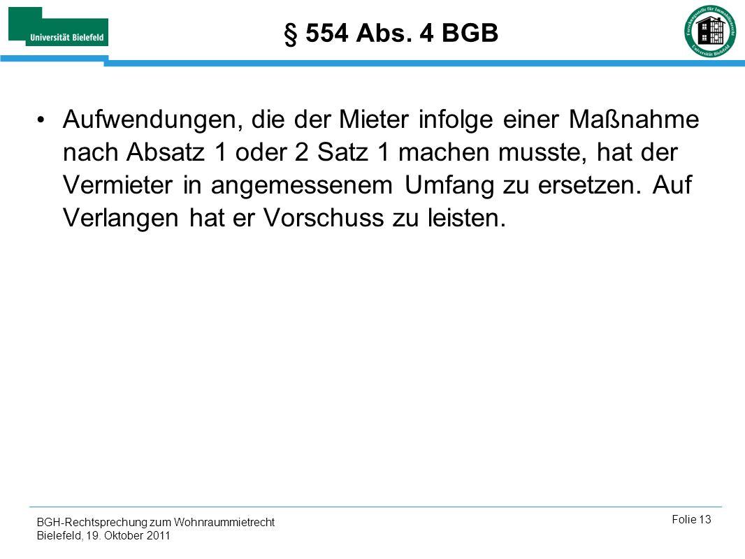 § 554 Abs. 4 BGB