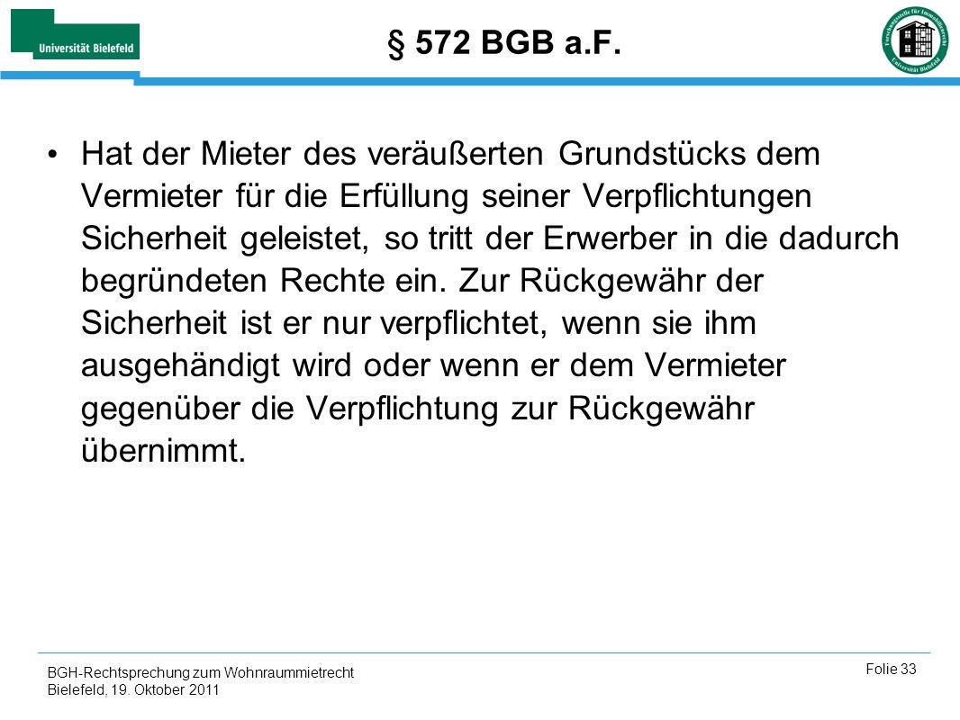 § 572 BGB a.F.