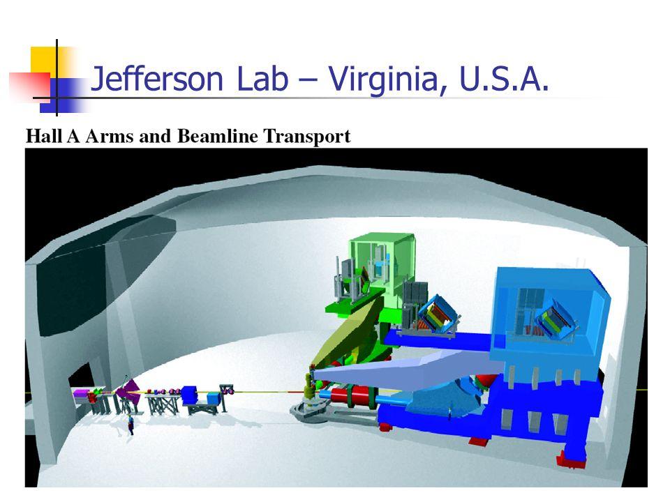 Jefferson Lab – Virginia, U.S.A.