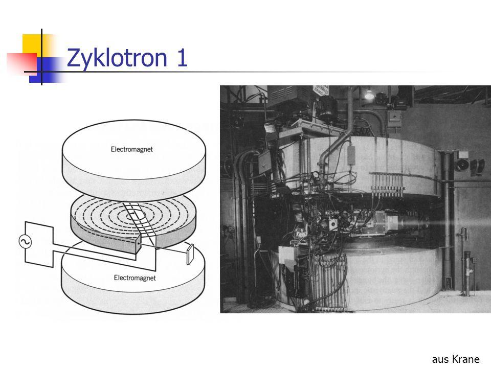 Zyklotron 1 aus Krane