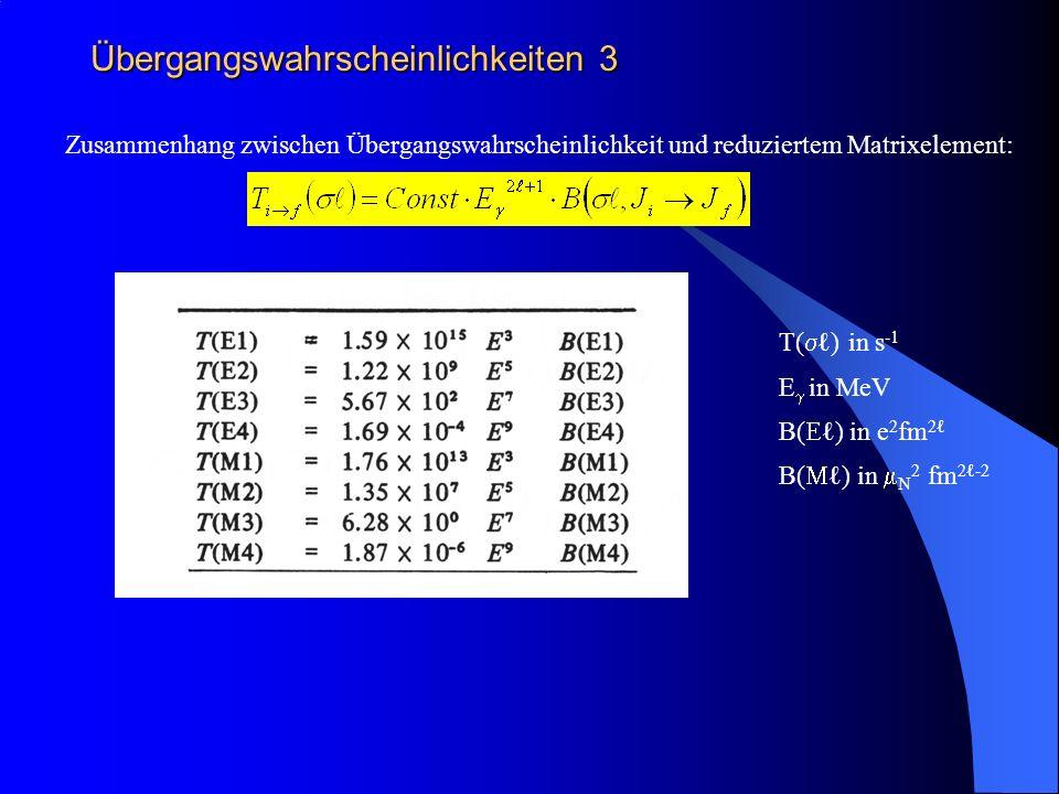 Übergangswahrscheinlichkeiten 3