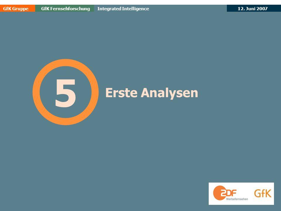5 Erste Analysen