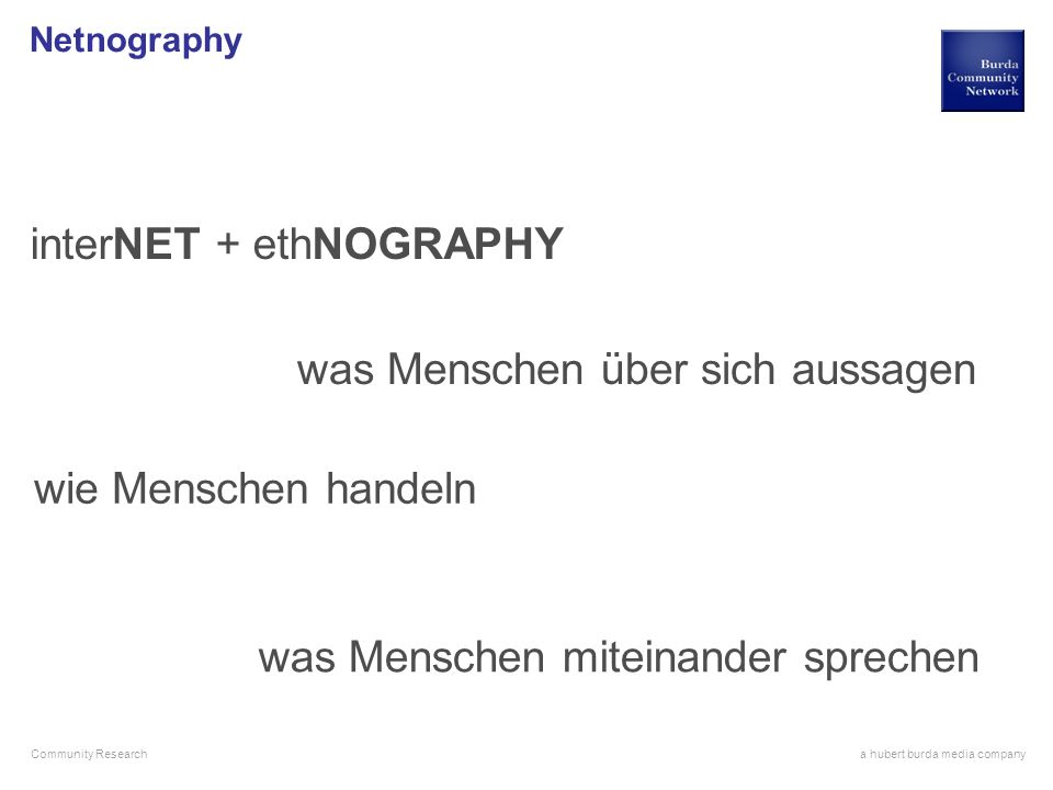 interNET + ethNOGRAPHY