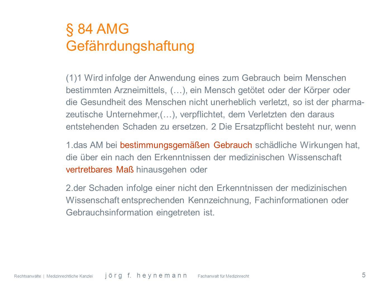 § 84 AMG Gefährdungshaftung