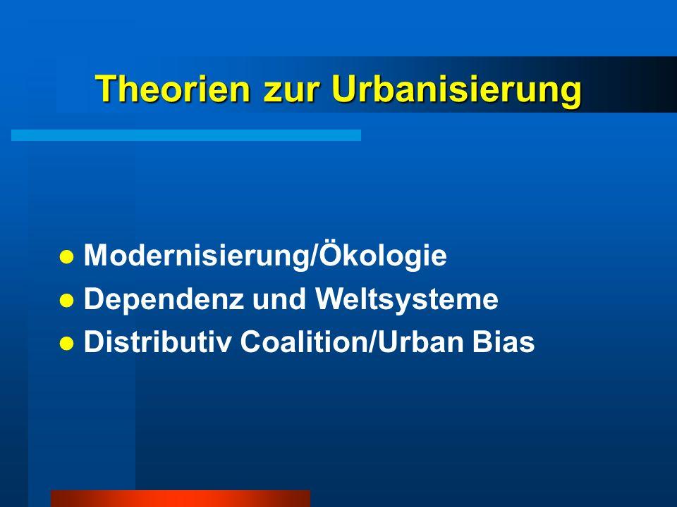 Theorien zur Urbanisierung
