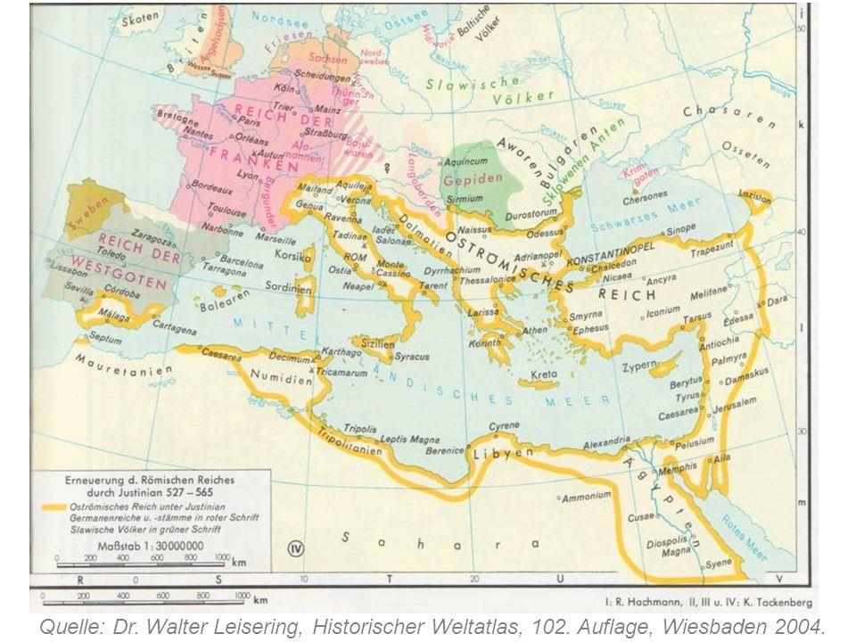 Quelle: Dr. Walter Leisering, Historischer Weltatlas, 102