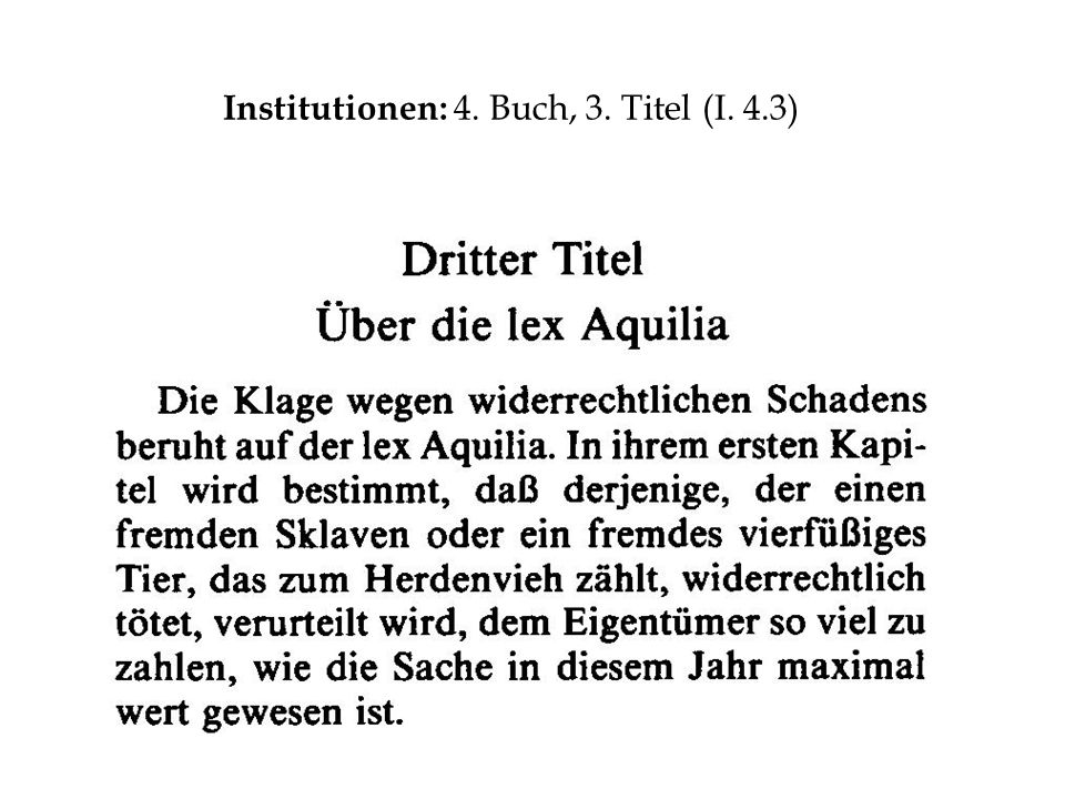 Institutionen: 4. Buch, 3. Titel (I. 4.3)