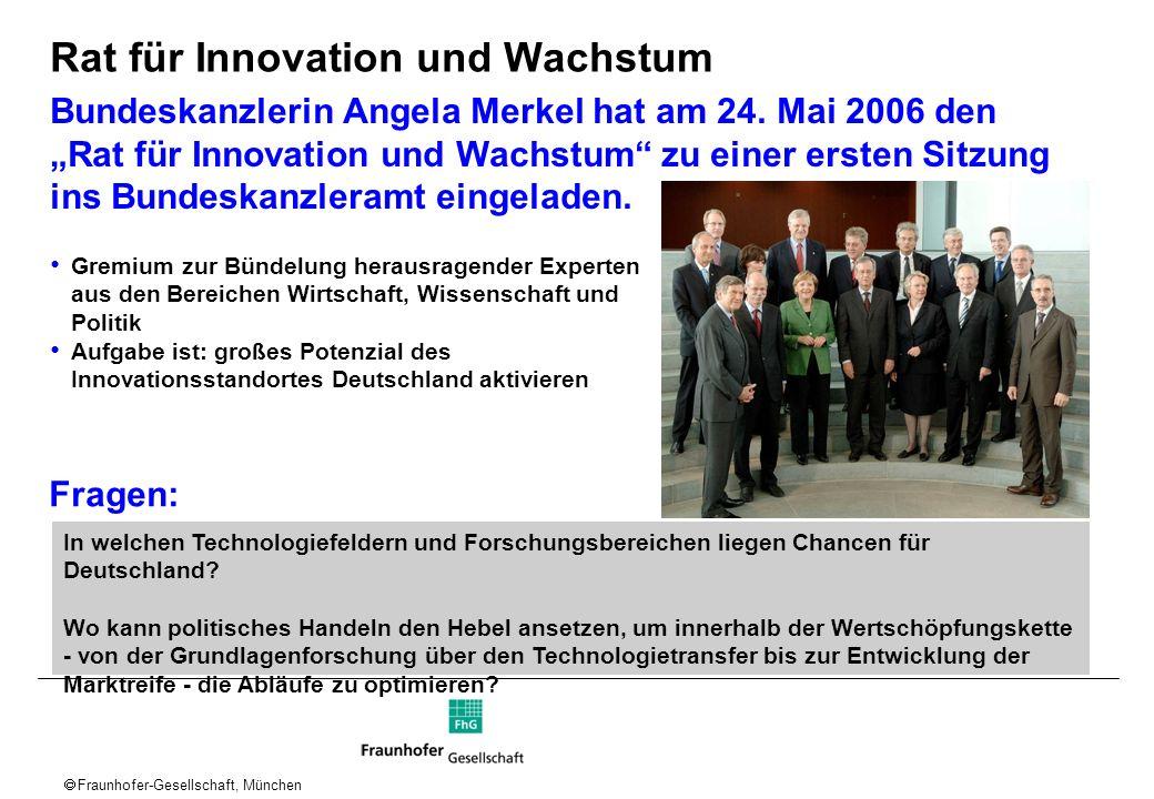 Rat für Innovation und Wachstum